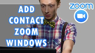 How To Add Contact On Zoom For Windows Tutorial