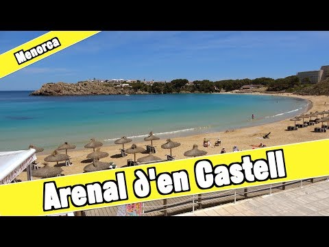 Arenal D'en Castell Menorca Spain: Beach And Resort