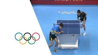 Repeat youtube video Zhang Jike (CHN) Wins Table Tennis Singles Gold - London 2012 Olympics