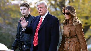 Melania Trump Calls Tweet About 14-Year-Old Barron 'Insensitive'
