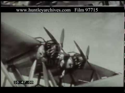 Air Travel Across Egypt And Sudan, 1930s - Film 97715