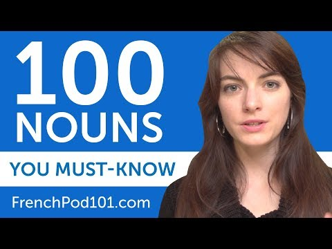 100 Nouns Every French Beginner Must-Know
