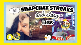 Snapchat Streaks and Story Ideas ♡ Creative Ideas for an Aesthetic Snapchat