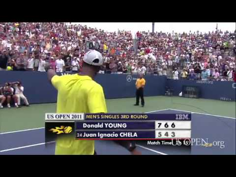 2011 US Open: Donald Young Fans