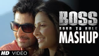 BOSS Mashup Video | Jeet & Subhasree | Blockbuster Bengali Movie 2013