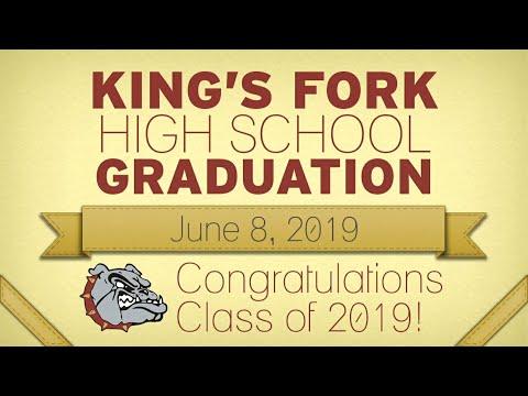 Kings Fork High School Graduation 2019