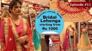 Chandni Chowk Lehenga Market | Buy Designer Lehengas For Cheap | Wedding Shopping