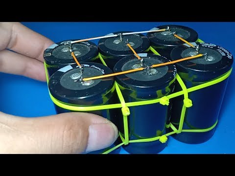 How to make a super capacitor powerbank