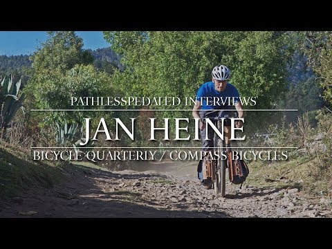 PLPTalks - Jan Heine - Bicycle Quarterly / Compass Bicycles
