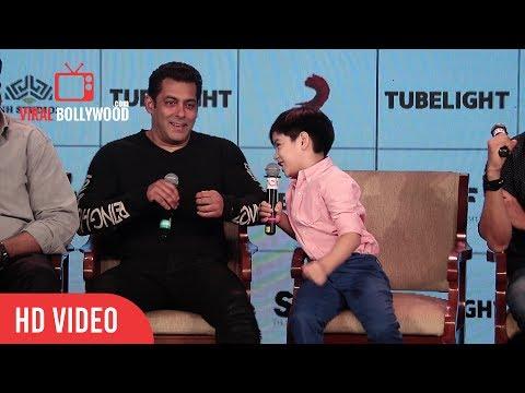 Salman Himat Hai Tho Ek Stupid Joke Sunaao   Tubelight Little Boy Funny Question To Salman Khan