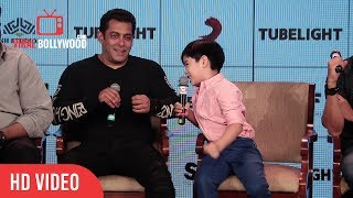 Salman Himat Hai Tho Ek Stupid Joke Sunaao | Tubelight Little Boy Funny Question To Salman Khan