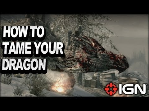 Skyrim Dragonborn DLC - How to Tame Your Dragon