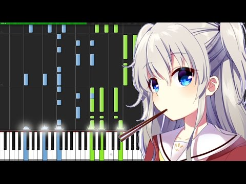 Bravely You - Charlotte (Opening) [Piano Tutorial] (Synthesia) // raykrislianggi