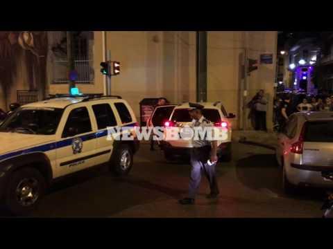 newsbomb.gr: Βίντεο ντοκουμέντο από το Μεταξουργείο - Η στιγμή σύλληψης του δράστη