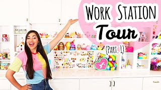 Art Room Tour | Art. Crafts. Squishies. (Pt. 1)