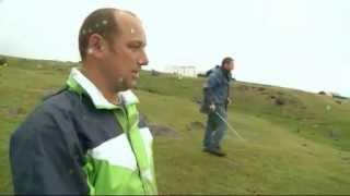 Tristan da Cunha, playin golf, www.petereichstaedt.de