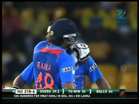Virat Kholi 128* vs Sri Lanka 4th ODI 2012