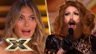 Gingzilla leaves the Judges STUNNED with a seductive audition | X Factor UK