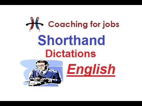 High Court Shorthand Dictation 100 Wpm 61 Youtube