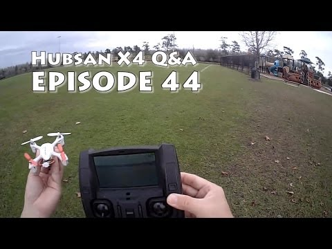 Hubsan X4 H107D How to Flip the Smallest FPV Quadcopter and Q&A