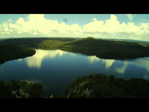 Quemahoning Reservoir Drone Flight