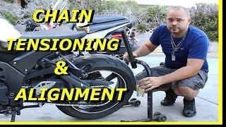 How to Tighten your Motorcycle Chain