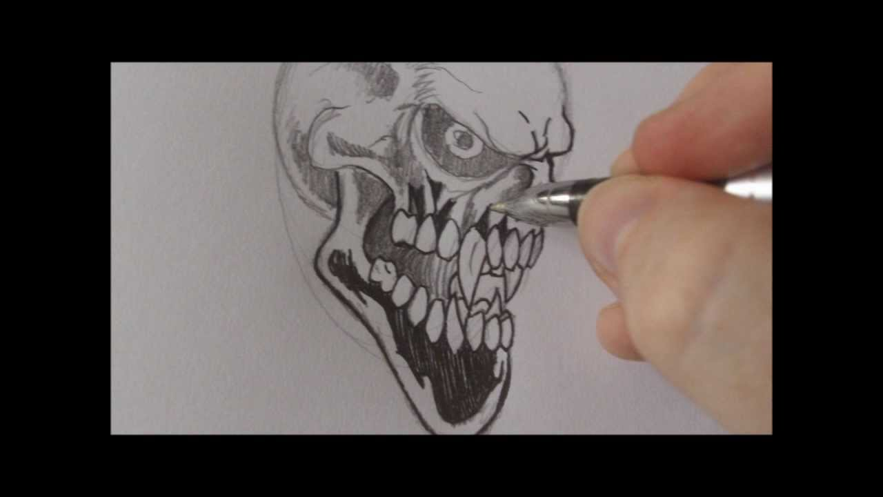 It's just a graphic of Bright Vampire Skull Drawing