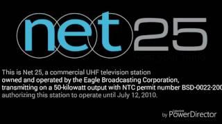 net25 sign off 2009