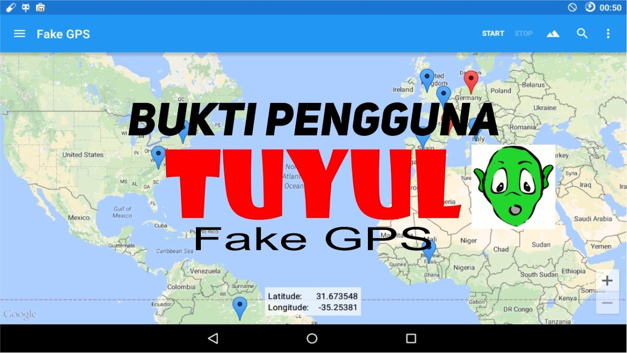 Bukti Mudahnya Menggunakan Tuyul Fake Gps Youtube