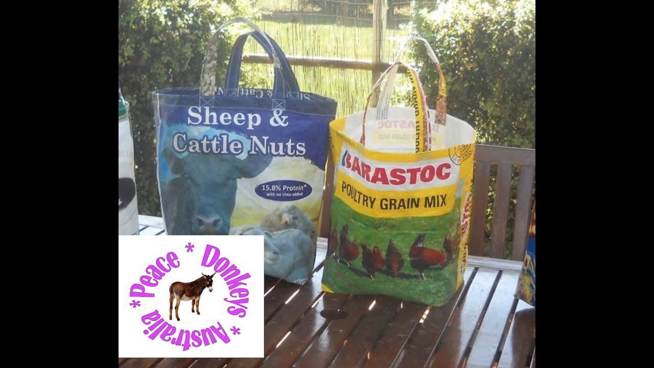Feed Bags Into A Tote Or Ping Bag