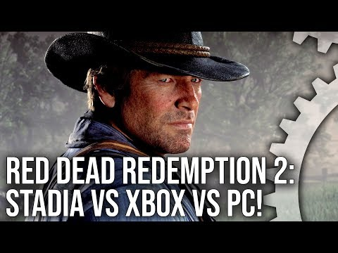 Red Dead Redemption 2 Stadia vs Xbox One X vs PC Analysis!