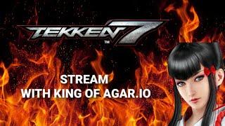 LEOPARD & KING OF AGARIO (MOPEIO DEV) - TEKKEN 7 LIVESTREAM