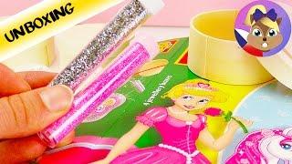 Princezna malovaná pískem | Sablimage kreativní sada pro děti od Sentosphère