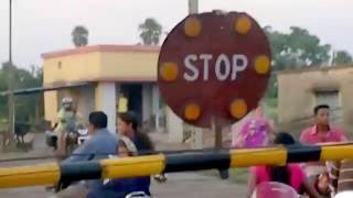 railway crossing at Handidhua Talcher, Angul