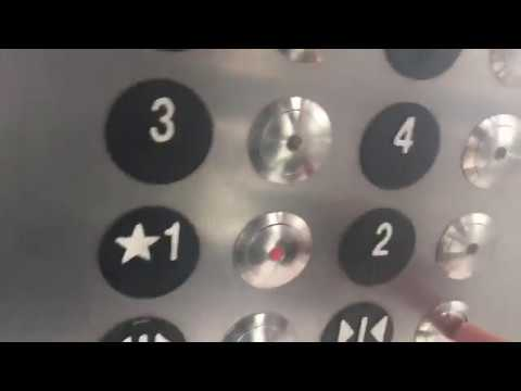 2 minute ride On The ThyssenKrupp Hydraulic Elevator At UNC Jackson Parking Deck, Chapel Hill NC