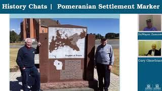 video thumbnail: History Chats   The Pomeranian Settlement Marker