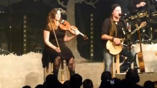 Eluveitie - Isara / Setlon / Carnutian Forest / Gobanno - live @ Das Zelt in Zurich 16.4.16