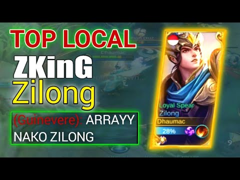 WHEN ZKinG USED ZILONG IN RANK MATCHED!! SEE WHAT HAPPENED NEXT??
