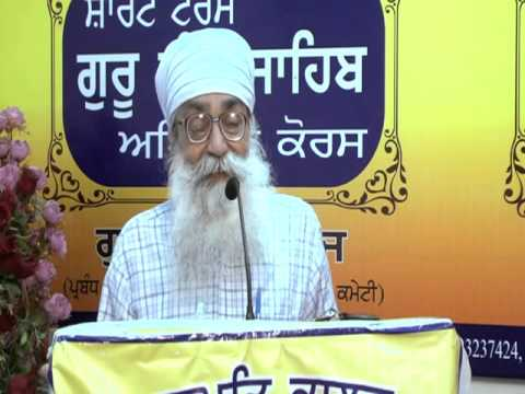 How should one Rise In 'Love'. Lectured by Pr. Narinder Pal Singh.