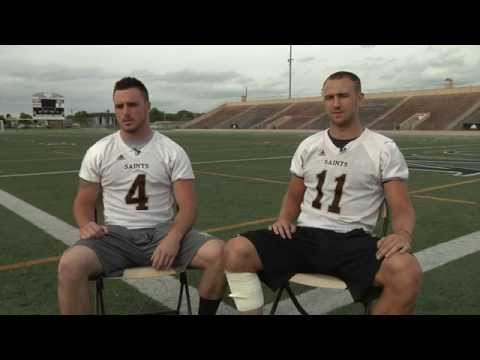 Meet University of St. Francis (USF) Football Players Trace Wanless and Troy Torrence