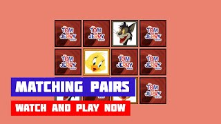 Tom and Jerry: Matching Pairs · Game · Gameplay