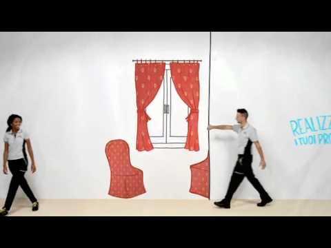 Tende Su Misura Leroy Merlin : Servizi per fare tende e tessuti su misura leroy merlin youtube