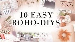 10 Easy BOHO DIYs zum nachmachen 🌴 II Charlie XD ❤️