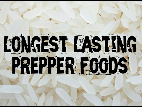 SHTF: LONGEST Lasting Foods | Canadian Prepper
