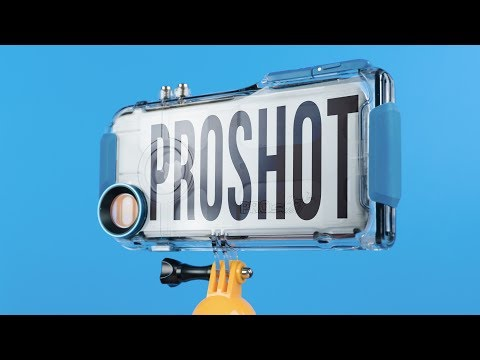 ProShot Waterproof Case for iPhone 7 Plus – Review – A built-in GoPro mount!