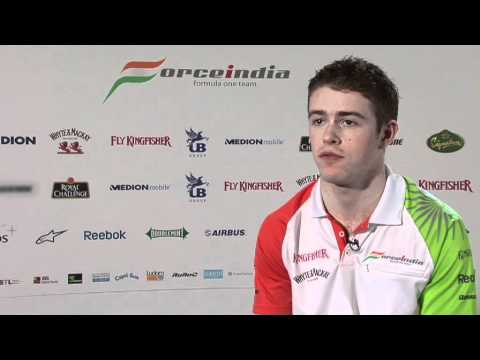 F1 - Force India 2011 - Interview with Paul di Resta