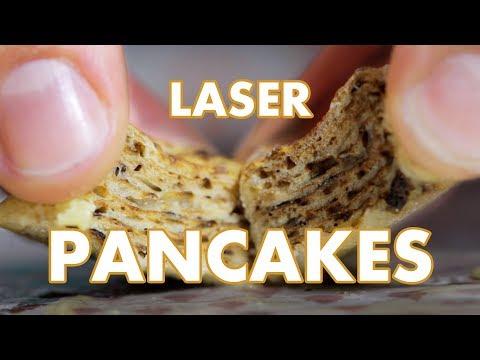 Binging with William: Laser Pancakes