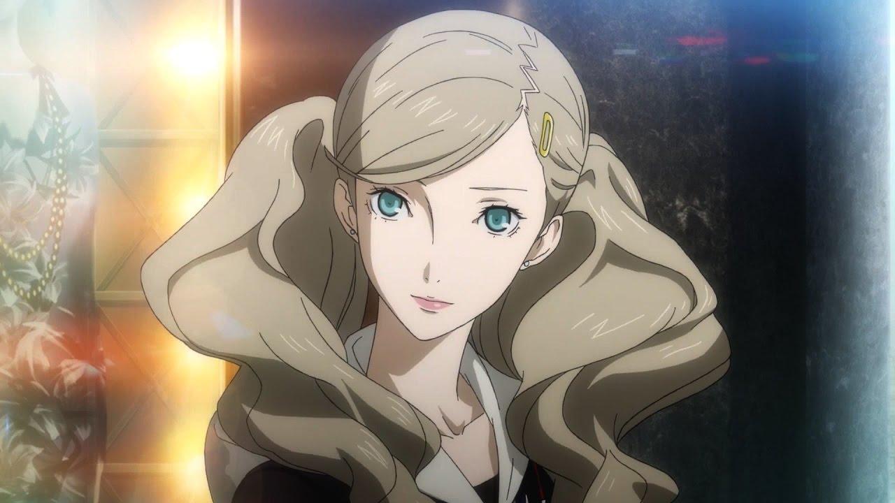 Persona 5 Girls Wallpaper Persona 5 Ann Takamaki Trailer Youtube