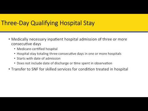 Skilled Nursing Facility Benefits Training