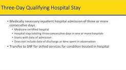 Skilled Nursing Facility Benefits Training